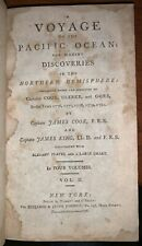 1796 ,Primero Americano Ed,Voyage Para Pacific Ocean,Capitán James Cook & King