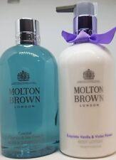 Molton Brown Coastal Cypress & Sea Fennel Shower Gel & Exquiste Vanilla Violet F