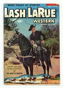 Lash Larue Western #41 GD 2.0 1953 Low Grade