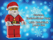 LEGO Santa Claus MEGAfigure INSTRUCTIONS ONLY (Big Minifigure, Father Christmas)