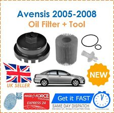 For Toyota Avensis 2.0 D-4D Blue Print Oil Filter Removal Tool + Oil Filter New