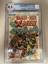 Giant Size X-Men CGC 8.5 WHITE PAGES 1st Colossus Storm Nightcrawler
