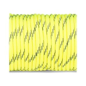 Paracord Type III 550 reflective sofit yellow #r3319