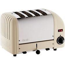 Dualit 4 Slice Vario Toaster Utility Cream 40354 Stainless Steel Aluminium