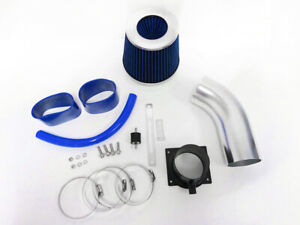 BLUE For 1998-2005 Volkswagen Passat 2.8L V6 GL GLS GLX Air Intake Kit + Filter