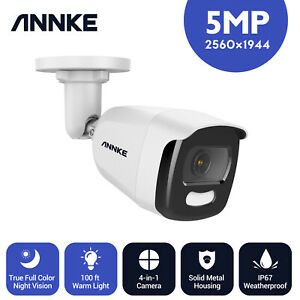 ANNKE 5IN1 5MP Acme Full Color Night Vision CCTV Metal Camera IP67 100ft NCA500