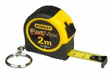 Stanley FatMax 2m Key Chain Tape Measure Free Post Australia Wide