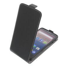 Funda para Alcatel Pop 3 5.0 4g SMARTPHONE Estilo Flip protectora Negro