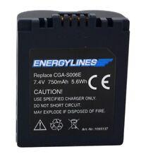 Battery Battery for Panasonic CGA-S006E; Leica Bp-Dc5-E Von Energylines New