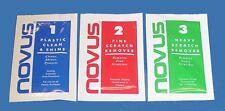 Set of 3 Novus Sample Packs - Novus 1, 2 & 3