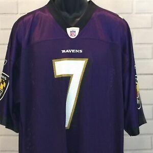 Baltimore Ravens #7 Quarter Back Kyle Boller Field Equip NFL Reebok Size XL NWT