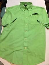 Arctic Cat Dress Shirt Arcticwear Green M Button Down