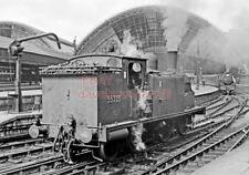 PHOTO  LNER LOCO 55225 GLASGOW ST ENOCH RAILWAY STATION  (2) 24-07-61 CR676