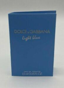 Dolce&Gabbana Light Blue Eau de Toilette 1.5ml 0.05 fl oz EDP  Vial .05