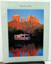 1995 Winnebago Brave RV Dealer Sales Brochure Motor Home Camper Features Options