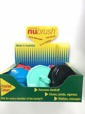 NU BRUSH-B0X OF 12 ASSORTED COLOURED BRAND NEW