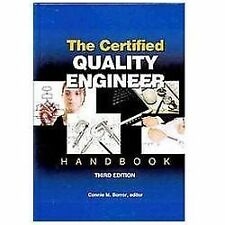 New-The Certified Quality Engineer Handbook by Connie M. Borror 3 ed-INTL ED