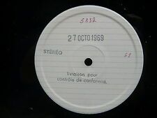 Test pressing Musique d ' Afghanistan BAM LD 5337 ( 1969 )