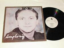 CLAUDE DUBOIS Implosif LP 1983 Pingouin Records Quebec Canada French Vinyl VG/VG