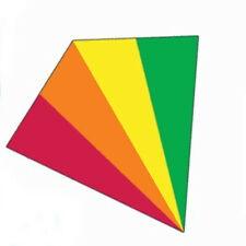 X-Kites SkyBreeze 25 inch Kite - Rainbow