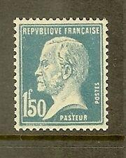 "FRANCE STAMP TIMBRE N° 181 "" TYPE PASTEUR 1F50 BLEU "" NEUF xx TTB"
