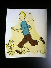 RARE Décalcomanie Tintin 1950 Tim Kuifje