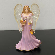 "Thomas Kinkade Angel of Generosity Inspirations Collection Figurine 6.5"""