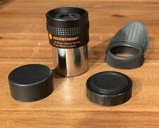 "Celestron telescope refractor cassegrain eyepiece 1.25"" 12.5mm Ultima 1988 Japan"