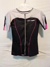 Louis Garneau Women's Course Vector Tri Tiathlon Jersey Small Multi/Black