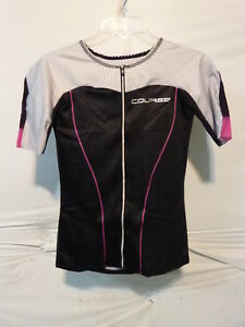 Louis Garneau Women's Course Vector Tri Tiathlon Jersey Small Multi/Black