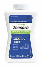 Zeasorb Anti fungal Treatment Powder Athletes Foot 2.5 oz
