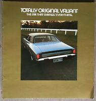 1971? Chrysler. Totally New Valiant original Australian sales brochure 5/700594R