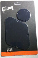 GIBSON Les Paul Back Plate Cover & 3 Way Switch Plate Cover Combo Set Genuine