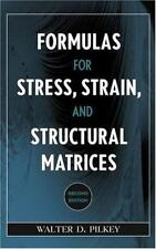 Formulas for Stress, Strain, and Structural Matrices-ExLibrary