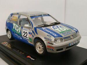 1/24 VOLKSWAGEN GOLF 3 MKIII 1998 RALLY GIBSON COCHE A ESCALA SCALE CAR DIECAST