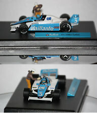 """F1 Michel Vaillant """"Vaillante"""" 1982 Turbo 1/43"""