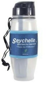 Seychelle 28oz Extreme Water Filter Bottle with Extra Replacement Filter