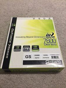 Inno3D GeForce 7600GS 256MB DDR2 HDTV AGP8X/4X Graphics Card Nvidia