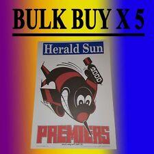 2000 ESSENDON Bombers Grand Final Premiers Premiership Weg Poster James Hird
