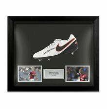 More details for framed jack wilshere signed football boot - west ham united autograph cleat