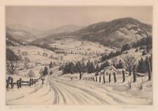 Ronau Woiceske (1887 - 1953) Etching Lot 419