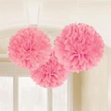 Décorations de fête roses Amscan pour la maison toutes occasions