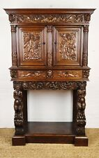 A heavily carved 17th century Dressoir.