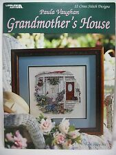 Paula Vaughan Grandmother's House Counted Cross Stitch 12 Designs Book 66 #3054