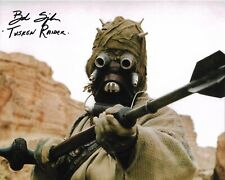 Star Wars Bob Spiker Tusken Raider A New Hope Signed 8 x 10 Photo