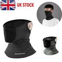 UK RockBros Summer Sports Ice Silk Scarf Neck Warmer Headband Cap & Filter Hats