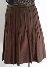 VERONIKA MAINE Knee-Length Polyester Regular Size Skirts for Women