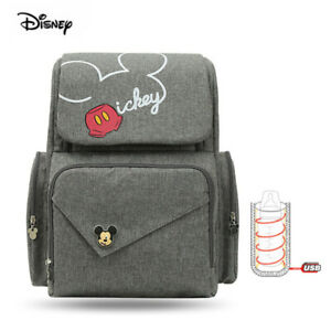 Disney Mickey Mouse 2020 Mama Backpack Diaper Bag Pushchair New