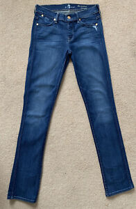 7 For all Manking Ladies Womens The Modern Straight Stretch Jeans,W26 L32 (D6)