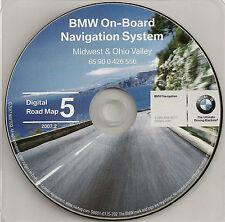 00 01 2002 BMW X5 Z3 Z8 745i 745Li M3 M5 NAVIGATION DISC CD MIDWEST OHIO VALLEY